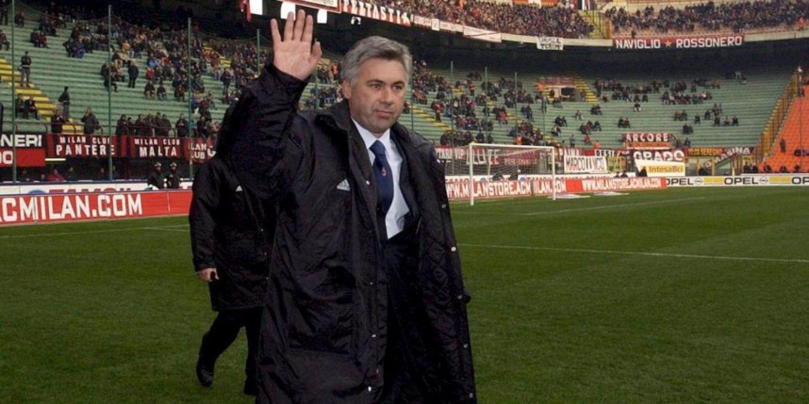En 2001 aún como DT rossonero Foto:Getty Images