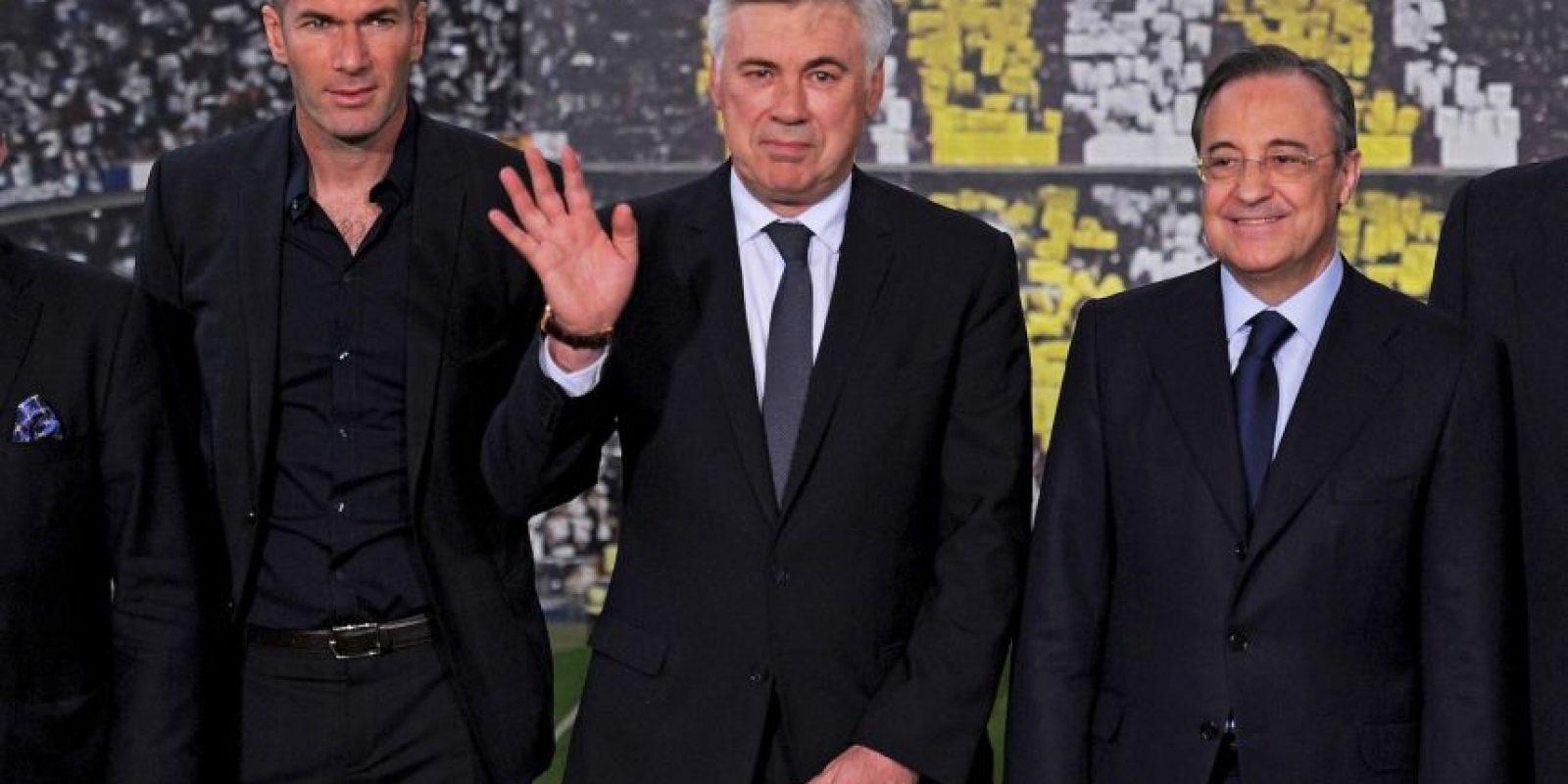 2013. A su llegada al Real Madrid Foto:Getty Images
