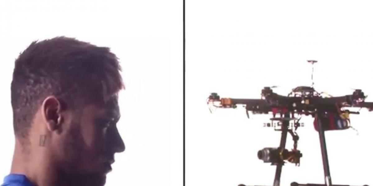 ¿Quién gana? Así fue la batalla de Neymar vs. un drone
