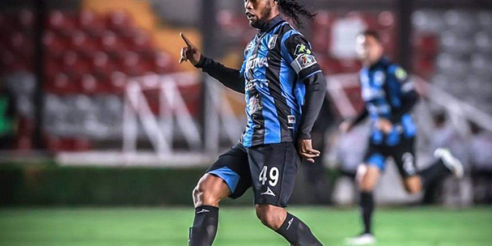 Solo ha marcado tres goles Foto:Facebook: Ronaldinho Gaúcho