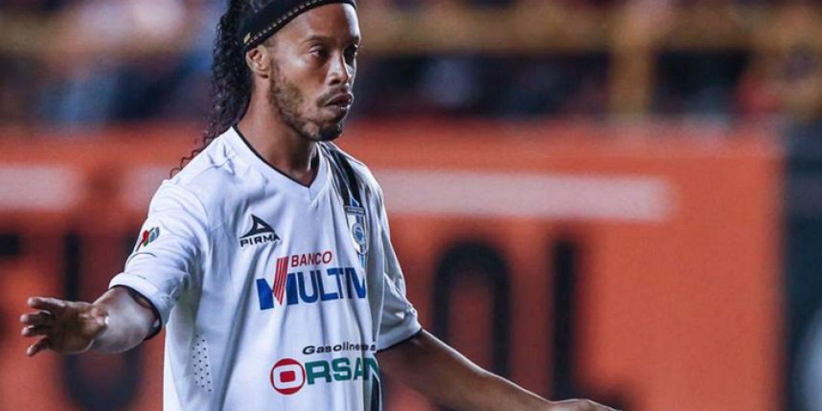 Solo ha visto actividad en 19 partidos desde que llegó en septiembre del año pasado Foto:Facebook: Ronaldinho Gaúcho