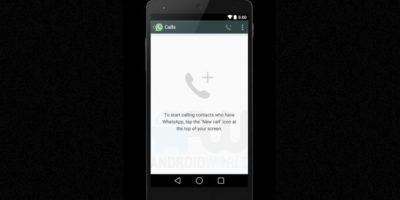 La interfaz cuando no han realizado llamadas. Foto:Android World