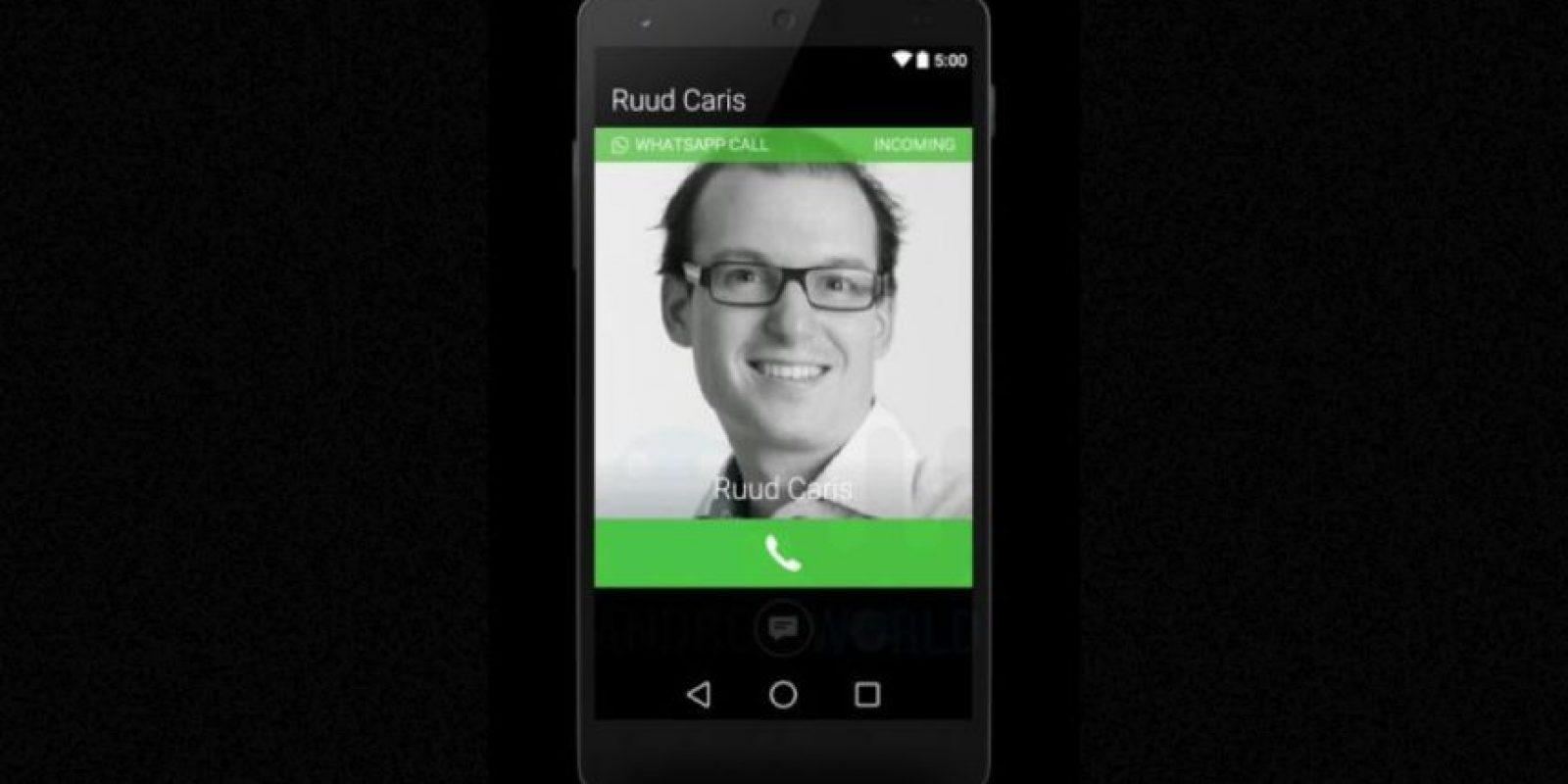 La pantalla cuando están llamando a un contacto. Foto:Android World