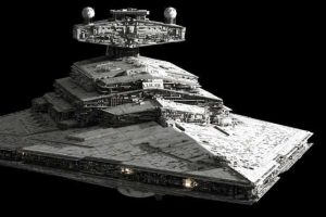 Así luce la nave en la saga de Star Wars. Foto:Twitter @elpopular_pe