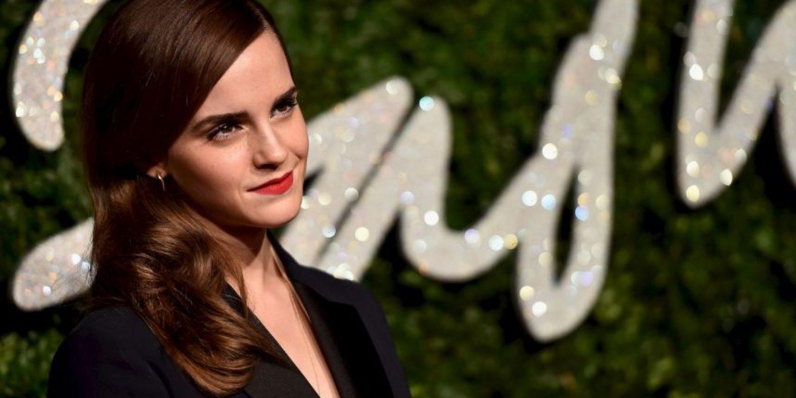 Emma Watson es conocida por interpretar a Hermione Granger en la saga Harry Potter. Foto:Getty