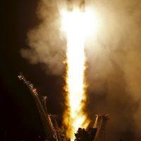 La nave estará un año en el espacio. Foto:AP
