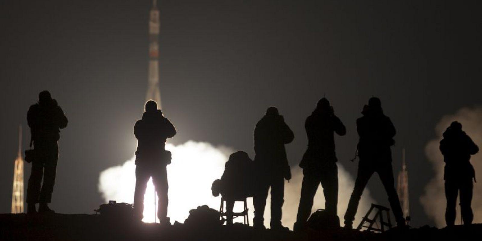 GennadyPadalka,romperá el record del hombre con mas horas en el espacio. Foto:AP