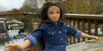 "Lammily es la muñeca ""real"" creada por Nickolay Lamm. Foto:Lammily"