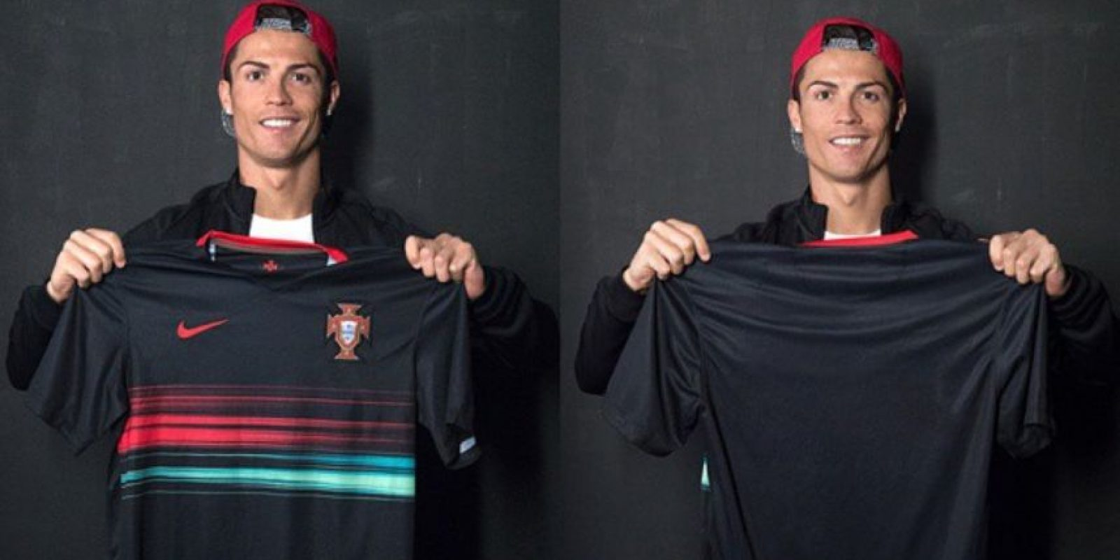 El futbolista del Real Madrid también usó las redes sociales para presentar el nuevo uniforme de Portugal. Foto:Instagram @Cristiano
