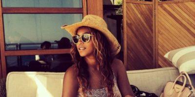 Beyoncé, ¿qué pasó ahí? Foto:Instagram