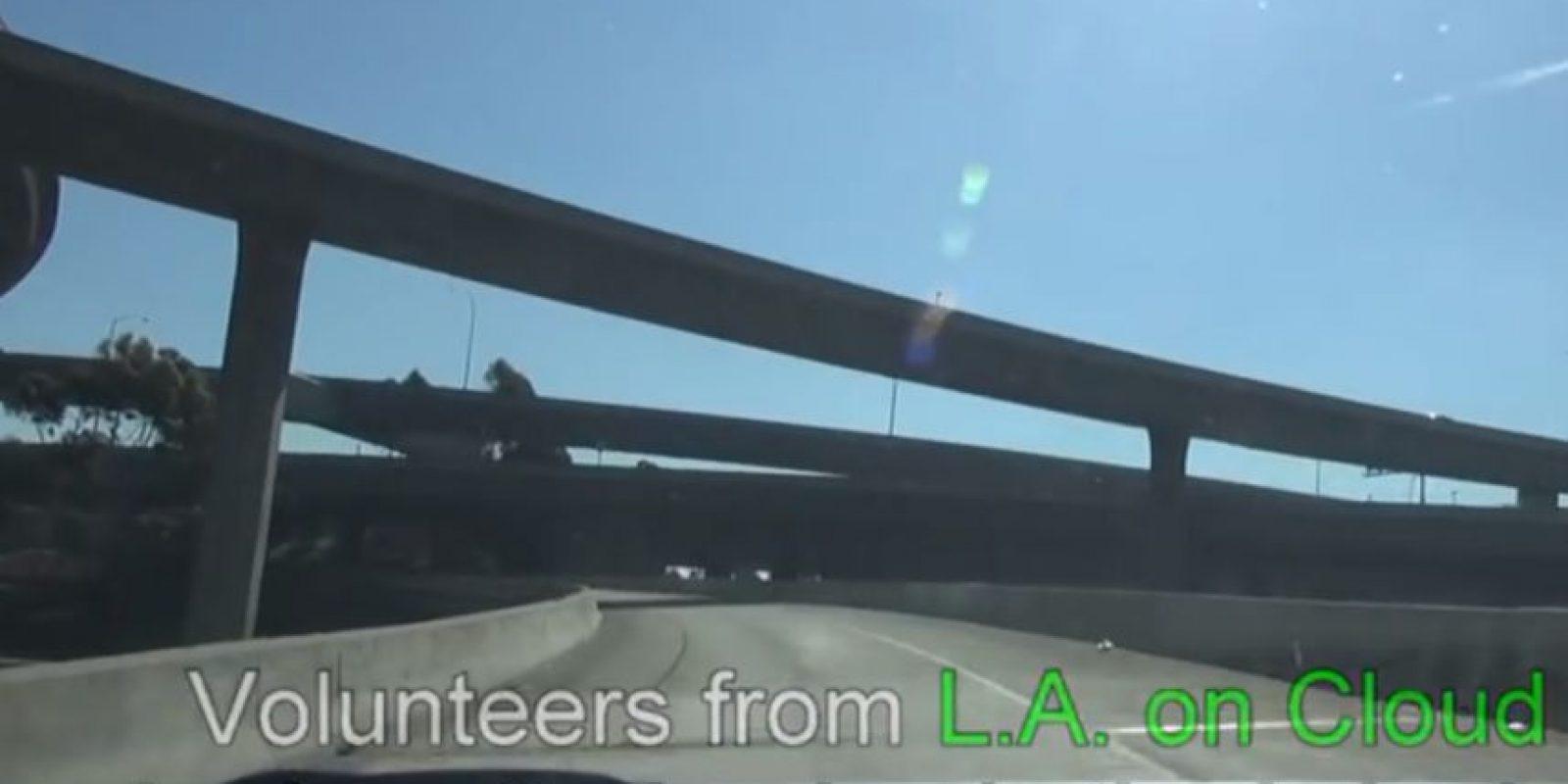 Sucedió en Los Ángeles. Foto:Youtube/Hope for Paws