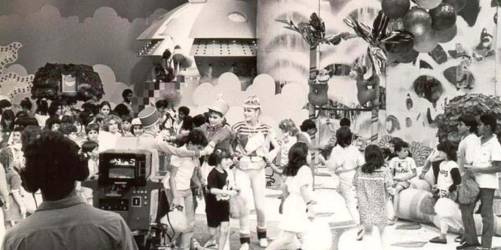 """A los 20 años Xuxa fue invitada por el director Maurício Shermann para presentar el """"Club de los Niños"""", Foto:xuxa.com.br"""