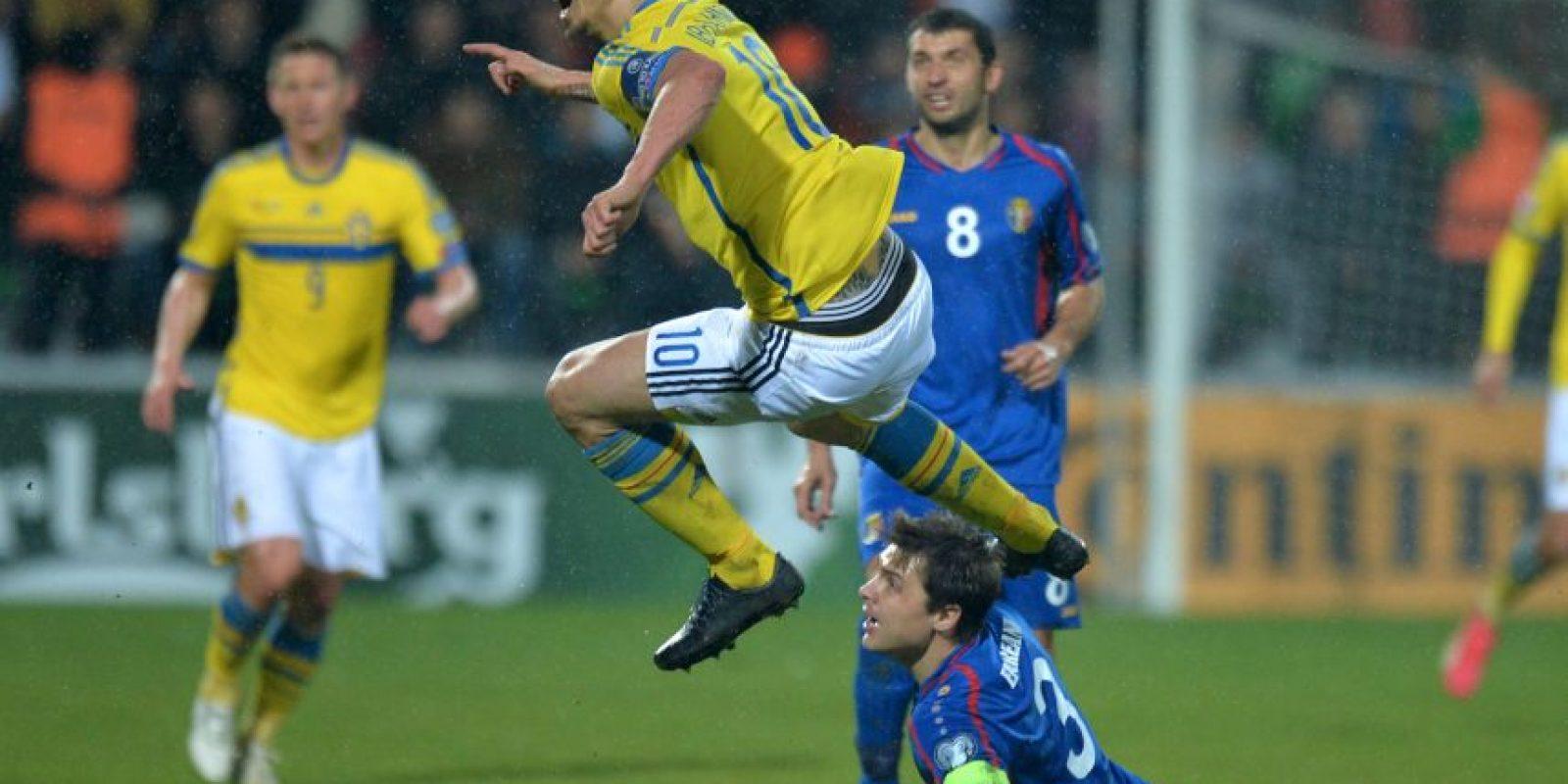 Tras la victoria, Suecia marcha en segundo lugar del Grupo G, con nueve puntos. Foto:AFP
