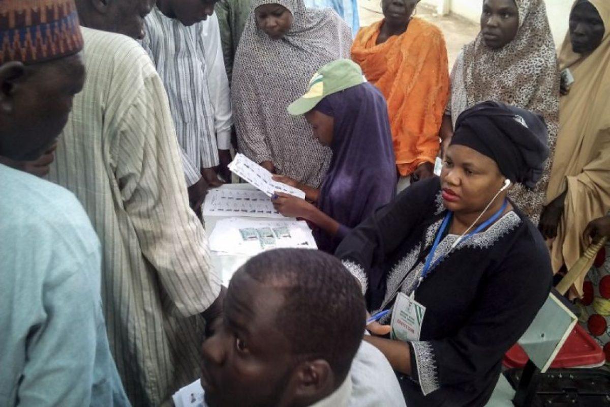 Así ha sido la jornada electoral en el país africano Foto:AFP