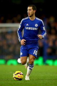 Entre ellos destacan Eden Hazard (en la foto), figura del Chelsea; además de Mathieu Debuchy, Lucas Digne, Gianni Bruno y Divock Origi. Foto:Getty Images