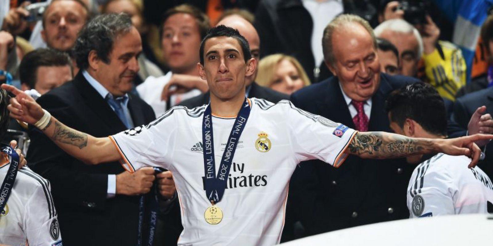 Se trata de Ángel Di María Foto:Getty Images