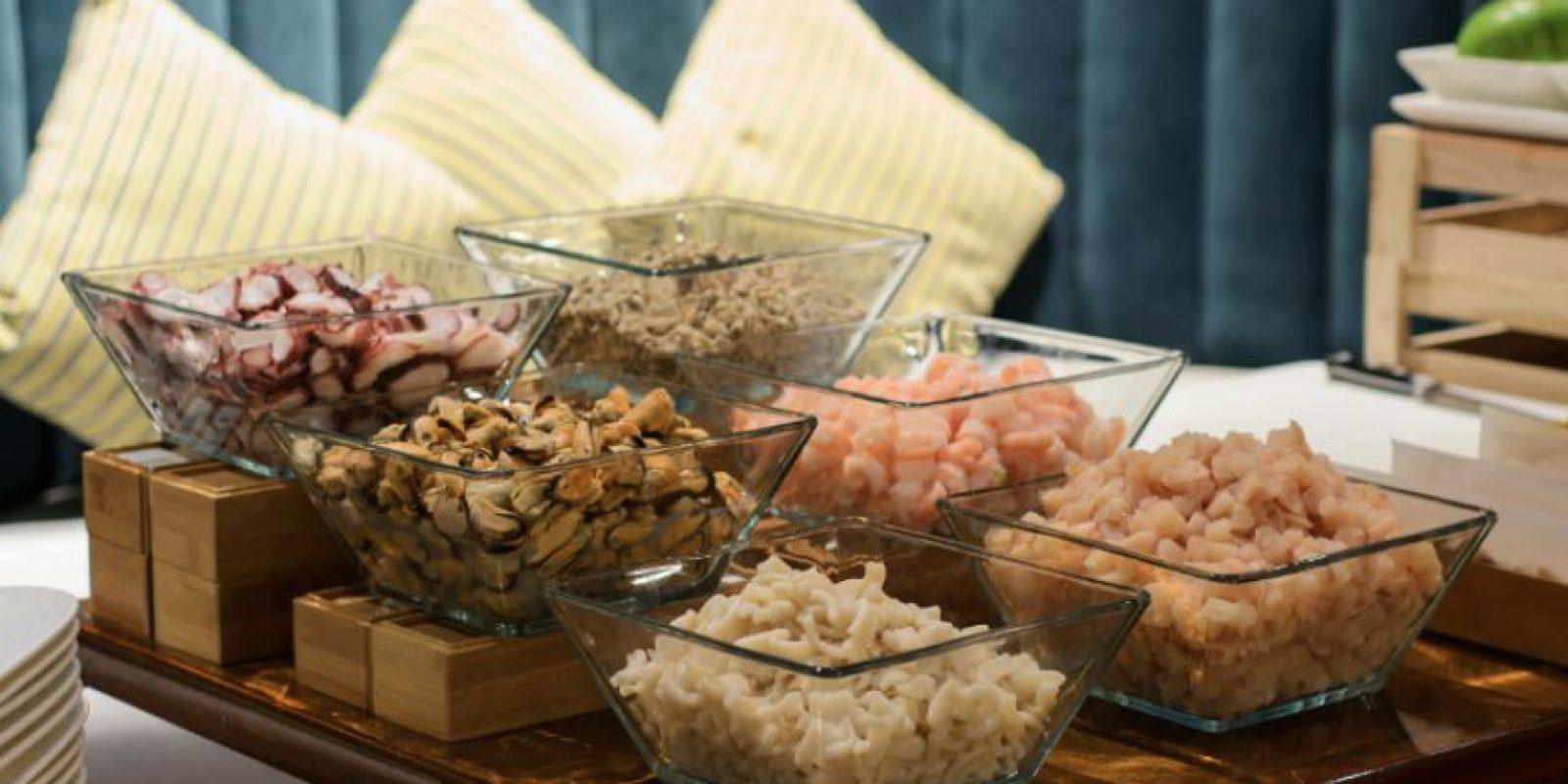 Mariscos para un ceviche único. Foto:Cortesía