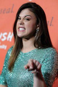"""Protagoniza la serie """"Pretty Little Liars"""". Foto:Getty Images"""