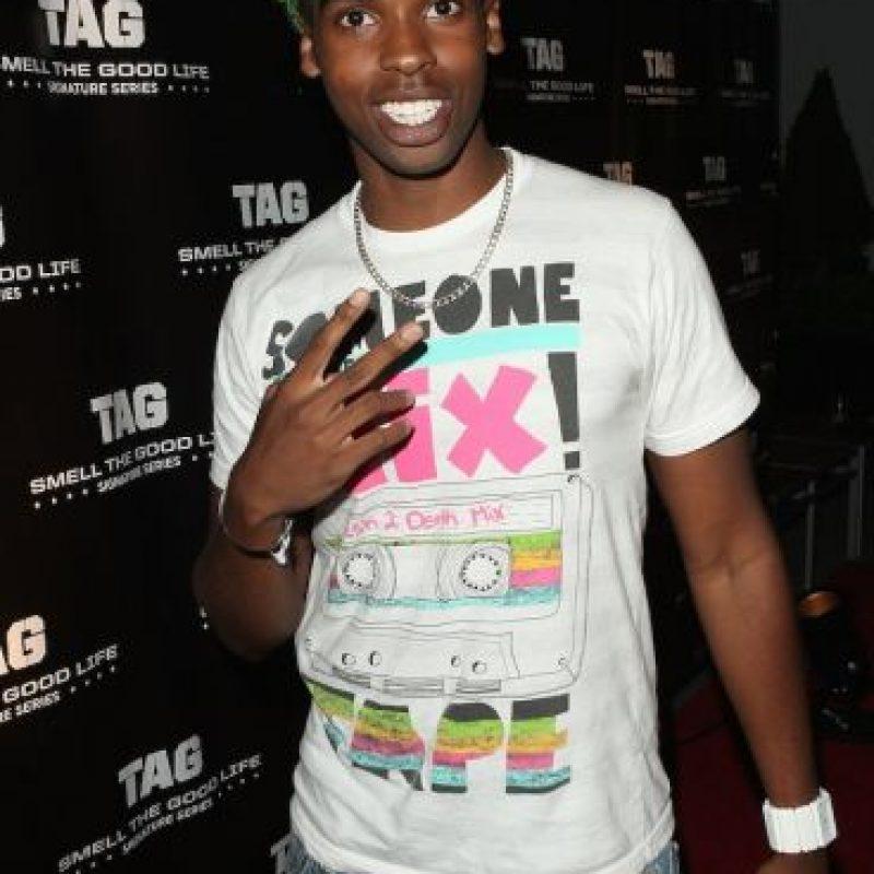 Actualmente tiene 23 años y es un rapero. Foto:Getty Images