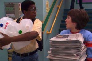 """En la serie también lo llamaban """"Cookie"""" y era un estudiante despistado pero inteligente. Foto:IMDB"""