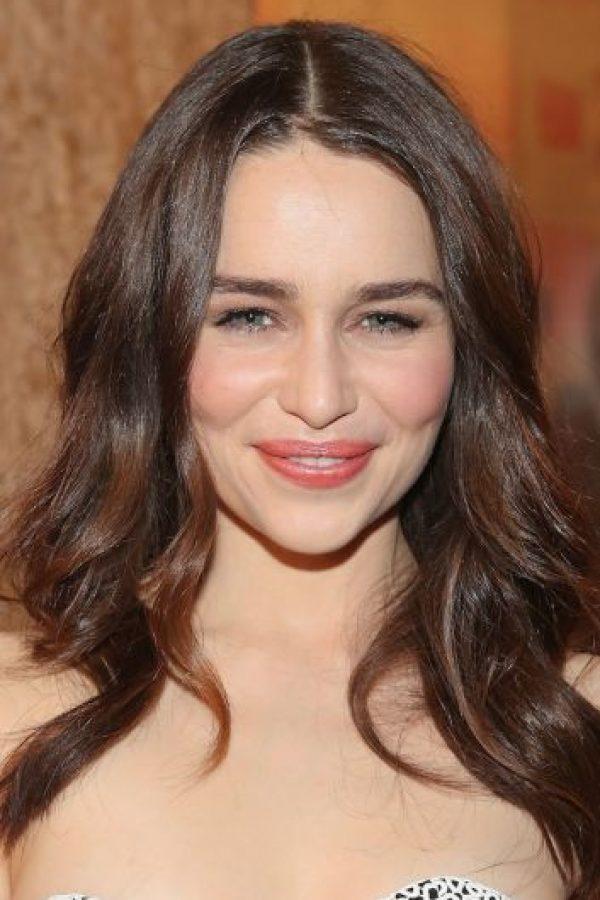 """En una entrevista con el diario """"El Mundo"""", aseguró que de no trabajar en """"Games of Thrones"""", sería la empleada de un bar. Foto:Getty Images"""