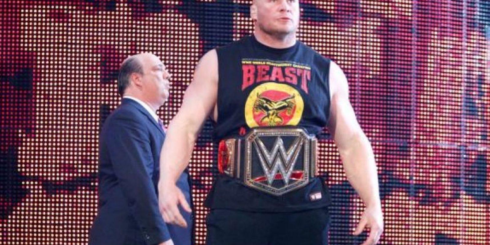 12. Tres títulos estarán en juego en Wrestlemania XXXI: El Campeonato Mundial de Peso Pesado, El Campeonato de Estados Unidos y El Campeonato intercontinental Foto:WWE