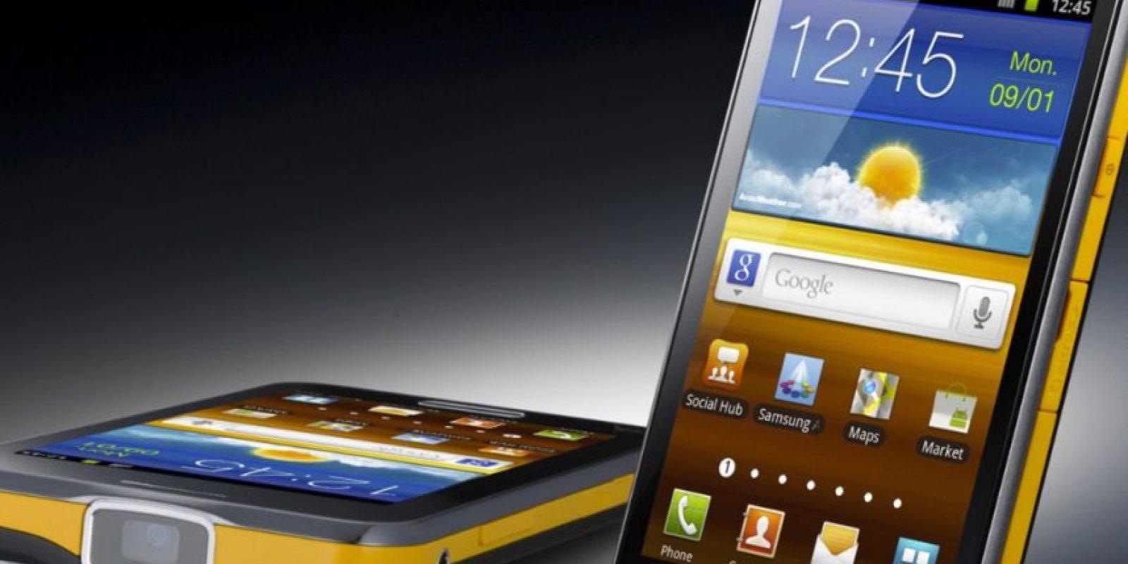 Samsung Galaxy Beam. Sobre todo el diseño y la inclusión de un proyector inútil, hicieron de este gadget un fracaso. Foto:Samsung