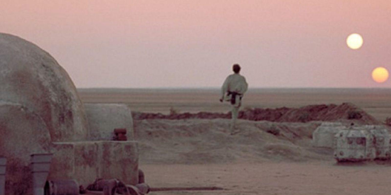 """3. Pueblo de Tunez que aparecía en la película """"Star Wars"""" ahora combate a ISIS Foto:Tumblr"""