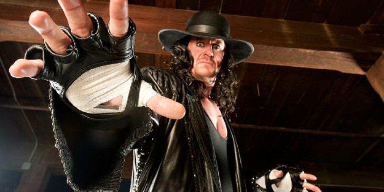 """8. Undertaker tiene 22 apariciones en el """"Evento más grande de todos"""" Foto:WWE"""
