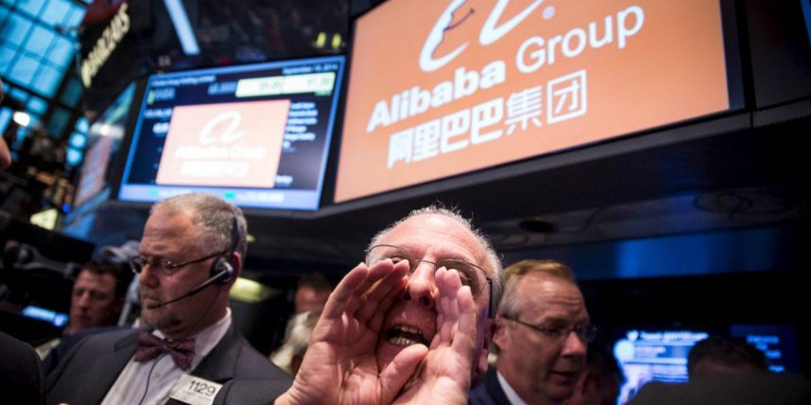 """Recientemente, el grupo chino de negocios tecnológicos Alibaba apoyó a la aplicación del """"fantasmita"""" para ingresar a la Bolsa de Valores de Estados Unidos Foto:Getty"""