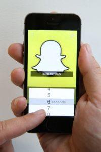Snapchat cuenta con mucha popularidad en Estados Unidos. Foto:Getty