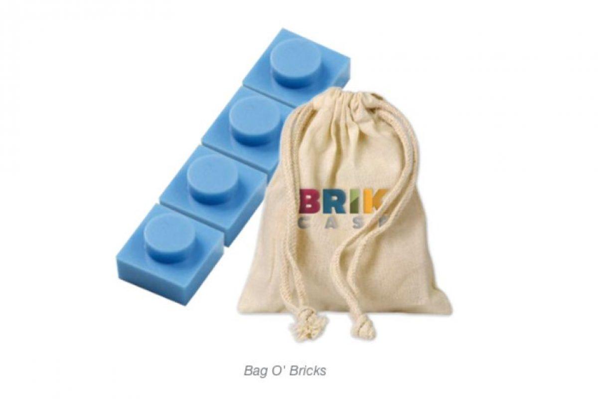 Estas son las piezas tipo Lego. Foto:Kickstarter