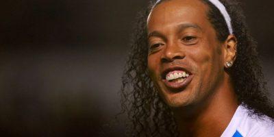 En septiembre de 2014, Ronaldinho fue presentado como el refuerzo estelar de Gallos Blancos de Querétaro, equipo que compite en la Liga MX. Foto:Getty Images
