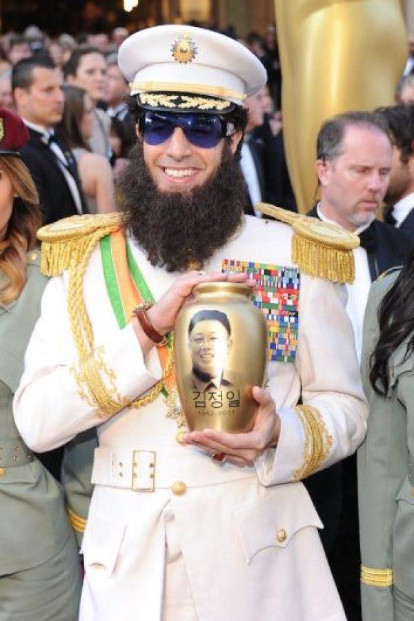 En 2013, Sacha Baron Cohen salió de esta producción, pues Queen consideraba que su visión de Freddie no era tan familiar como ellos esperaban Foto:Getty Images