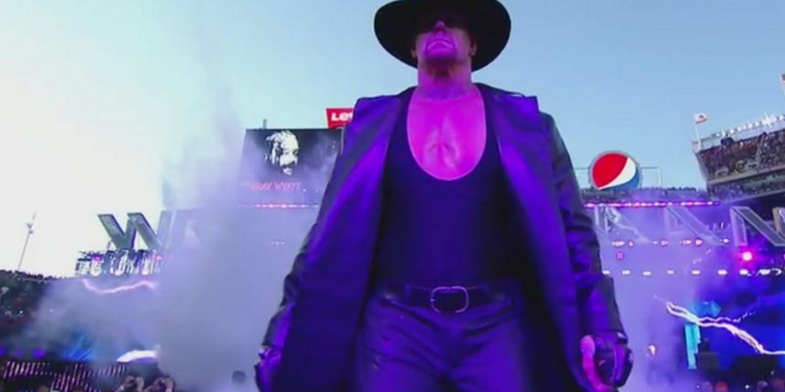 """Llegó a 22 victorias en la """"Vitrina de los Inmortales"""" Foto:WWE"""