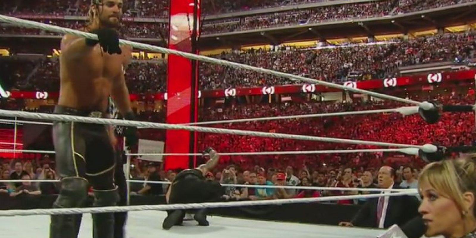 6. El Campeonato de Peso Pesado cambió de manos Foto:Twitter: @WWE