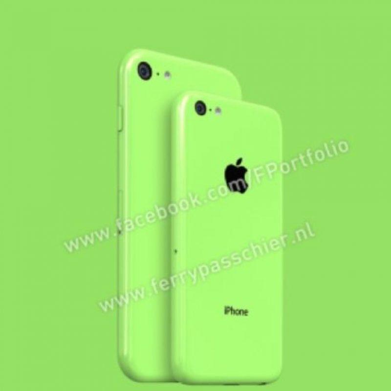 El supuesto iPhone 6C visto desde atrás. Foto:facebook.com/FPortofolio