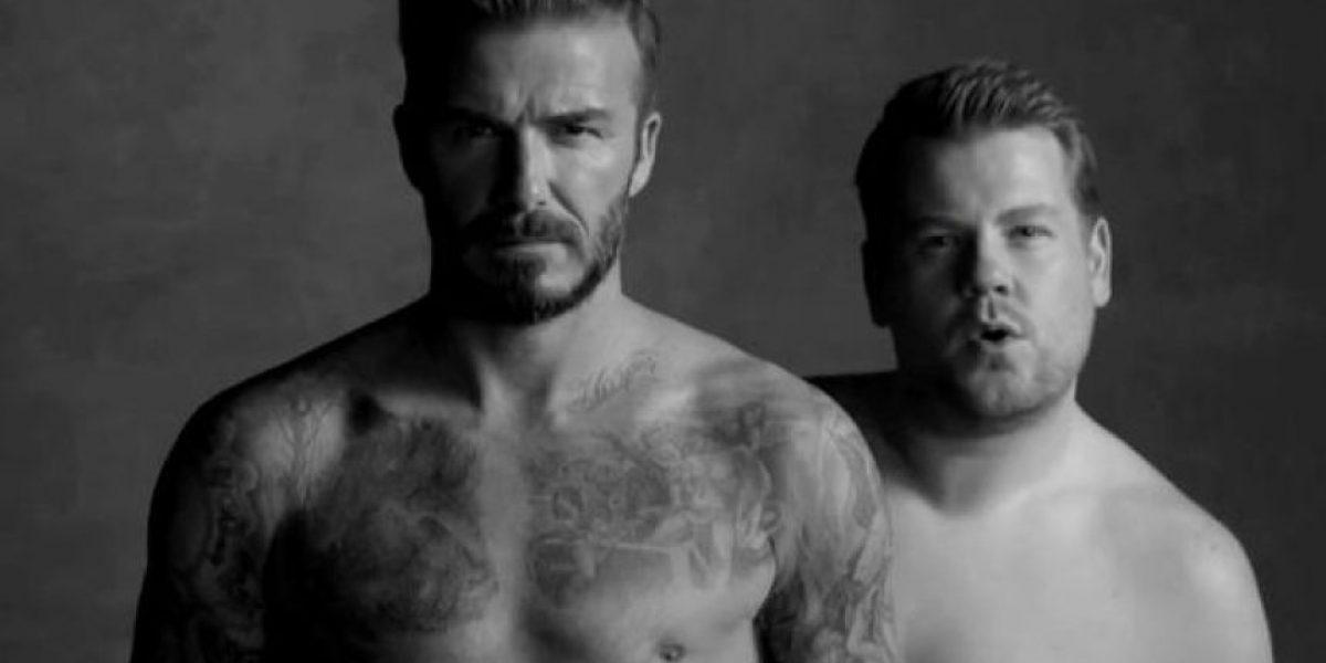 VIDEO: David Beckham sin ropa para hablar de la belleza interior