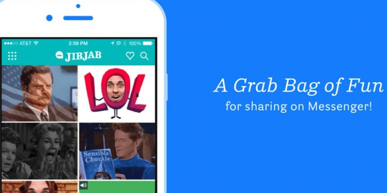 Quizás la más graciosa de estas apps sea JibJab. Sirve para hacer GIFs personalizados, con tu rostro en cuerpos animados. Foto:Twitter @JibJab