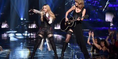 Taylor fue coronada como artista del año. Foto:Getty