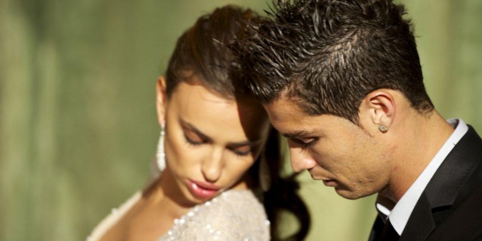 Cristiano Ronaldo conoció a Irina Shayk en una sesión fotográfica para Armani en 2010. Foto:Getty Images