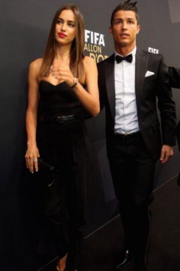 Al comienzo de la relación se dio la noticia de que el futbolista era padre un niño, lo cual ella aceptó sin problemas. Foto:Getty Images