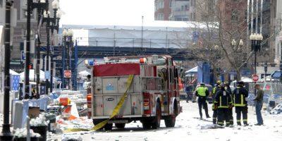 El lunes, 15 de abril 2013, el maratón de Boston se inició sin ningún indicio de un ataque inminente Foto:Getty