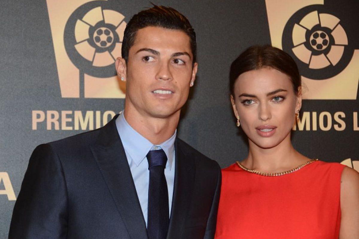 Pero la relación se terminó en 2014 y se supo los primeros días de 2015, cuando Irina no estuvo con Cristiano en la ceremonia del Balón de Oro. Foto:Getty Images