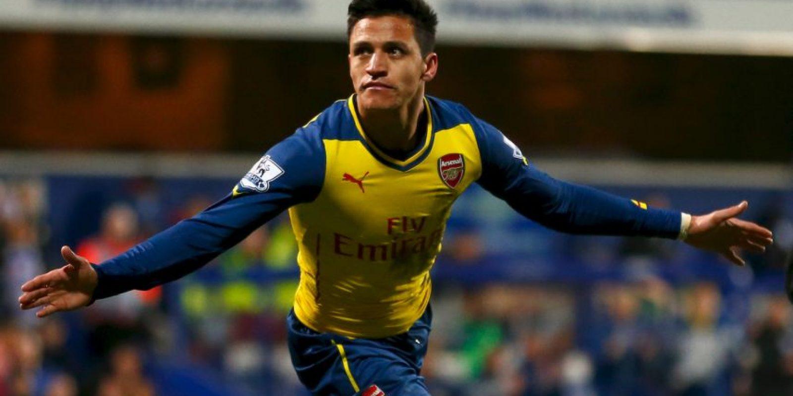 Como referente del Arsenal, el delantero chileno ha tenido gran éxito en la venta de sus jerseys. Foto:Getty Images