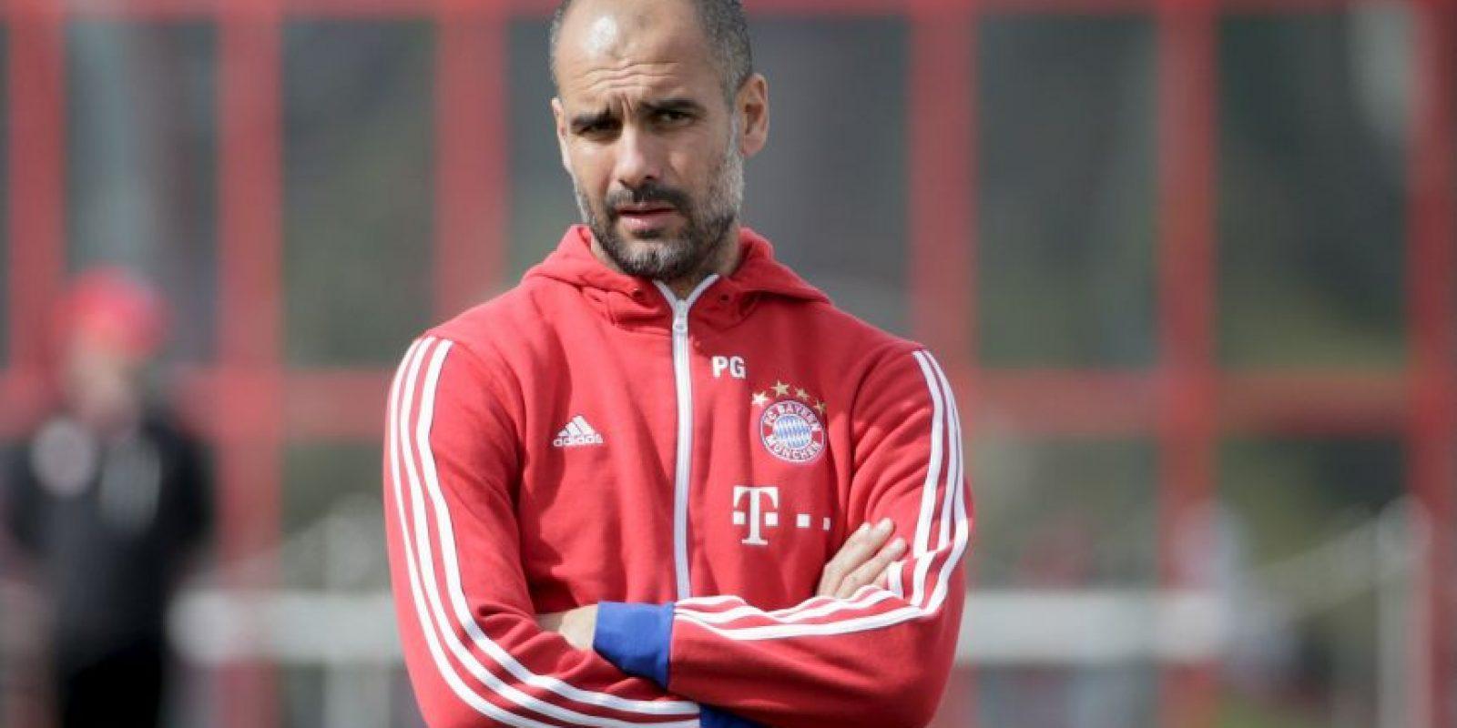 Además, su entrenador es Pep Guardiola, considerado uno de los mejores directores técnicos del mundo. Foto:Getty Images