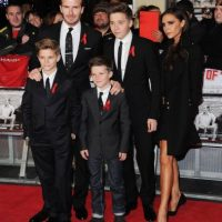 La familia Beckham está integrada por Brooklyn, Romeo, Cruz David y Harper. Obvio, además de David y Victoria Foto: Getty