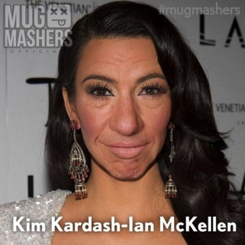 Kim Kardashian McKellen Foto:Instagram @mugmashers