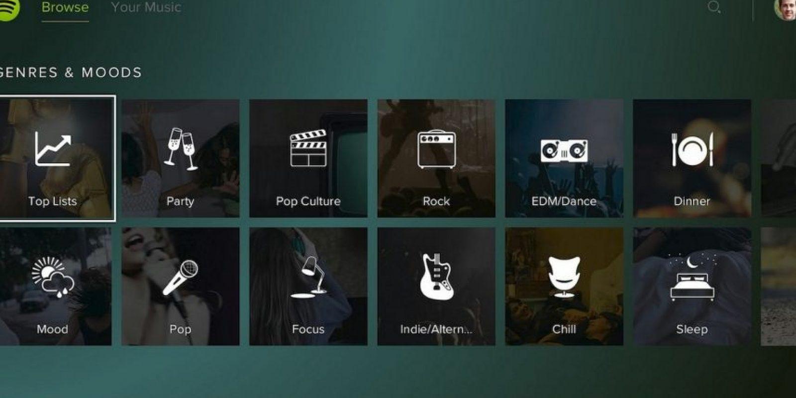 Pueden elegir las canciones que quieren escuchar o reproducir playlist de gaming. Foto:Sony