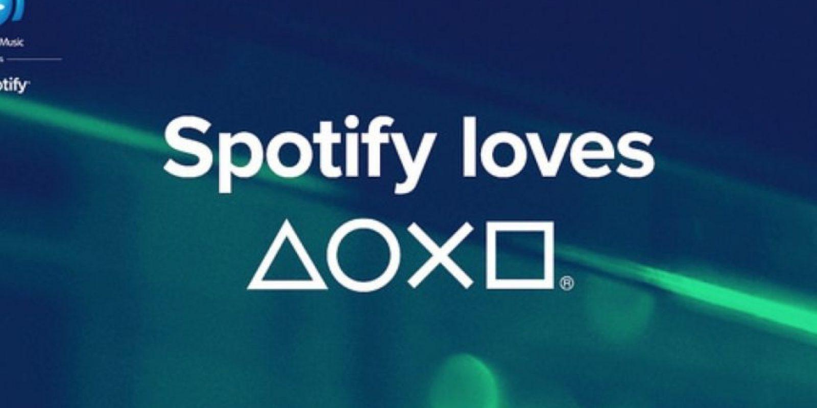 Desde este lunes se puede escuchar música de Spotify en el PS3, PS4 y dispositivos móviles Xperia. Foto:Spotify